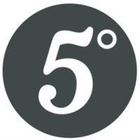 5 degrees